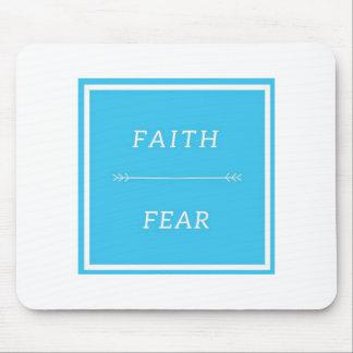 Faith Over Fear Mousepad