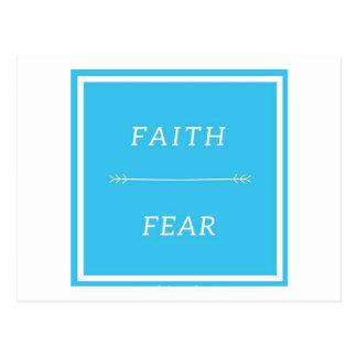 Faith Over Fear Postcard