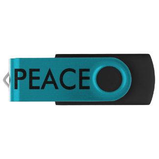 FAITH PEACE USB FLASH DRIVE SWIVEL USB 2.0 FLASH DRIVE