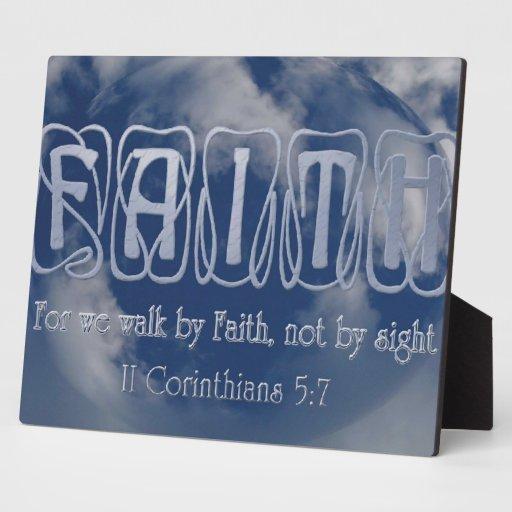 Faith Plaque