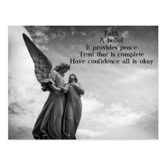 Faith Poem Postcard