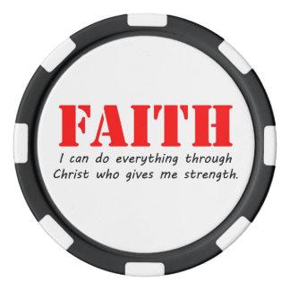 Faith Poker Chips