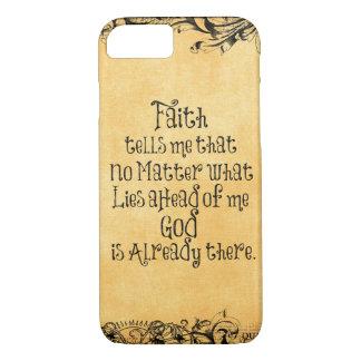 Faith Quote iPhone 8/7 Case