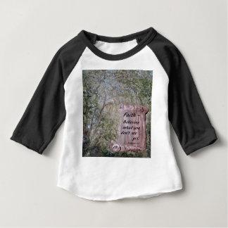 Faith Scroll Baby T-Shirt