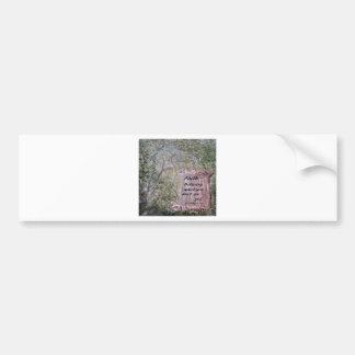Faith Scroll Bumper Sticker
