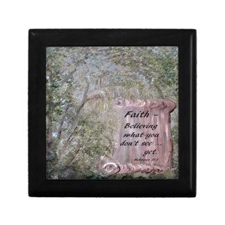 Faith Scroll Gift Box