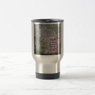 Faith Scroll Travel Mug