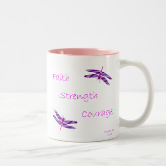 Faith Strength Courage Mug