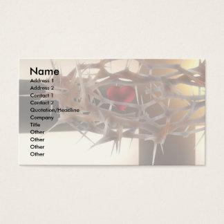 Faith Template Business Card