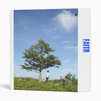 Faith - under the tree 3 ring binders