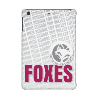 Faith Values Learning Foxes iPad Mini Cases