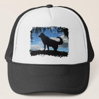 Faithful dog trucker hat