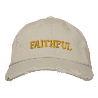 Faithful Embroidered Hats