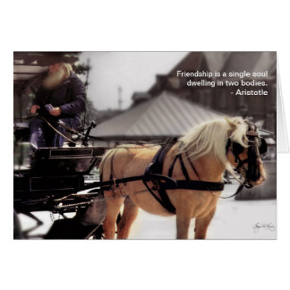 Faithful Friends Quote Card