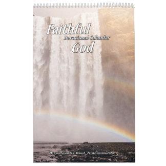 Faithful God Devotional Calendar