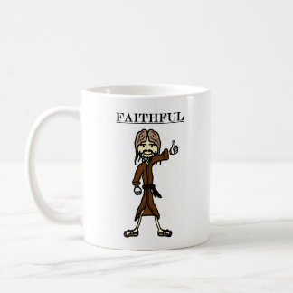 Faithful (mug) coffee mug