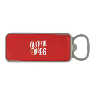 Faithful since '46 fan photo product magnetic bottle opener