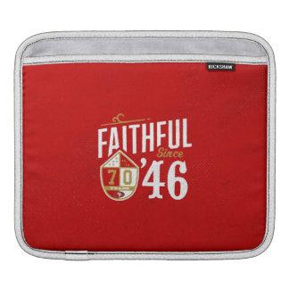 Faithful since '46 laptop sleeve photo iPad sleeve
