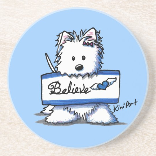 FAITHful Westie Dog Coaster