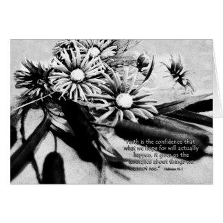 FaithistheconfidenceZazzle Card