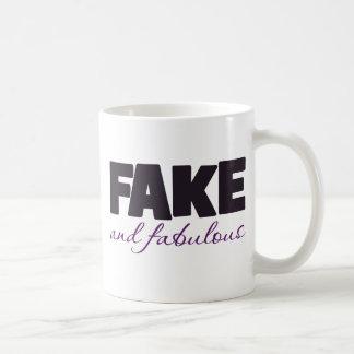 Fake and Fabulous Boobs Classic White Coffee Mug