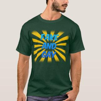 Fake and Gay (Dark) T-Shirt