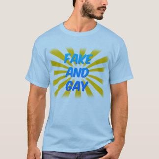 Fake and Gay (Light) T-Shirt