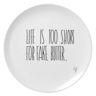 Fake Butter Plate