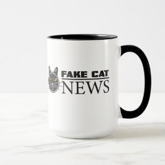 Fake Cat News 15 oz. Mug