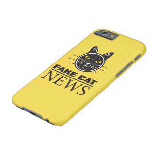 Fake Cat News iPhone 6/6s, Barely There Phone Case