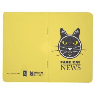 Fake Cat News  Pocket Journal
