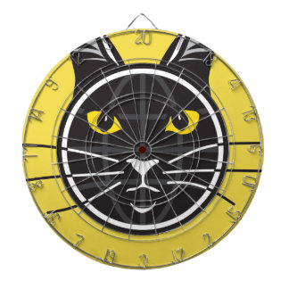 Fake Cat News Tazmo Logo Dartboard