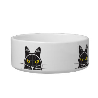 Fake Cat News Tazmo Logo Medium Pet Bowl