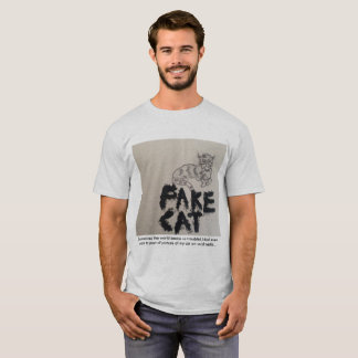 Fake Cat T-Shirt