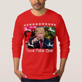 Fake Cheer, Donald Trump Ugly Christmas shirt