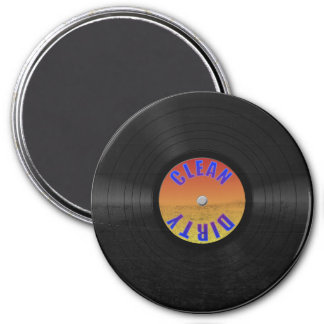 Fake Custom Vinyl Record Magnet