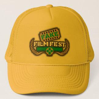 Fake Film Fest Logo Trucker Hat