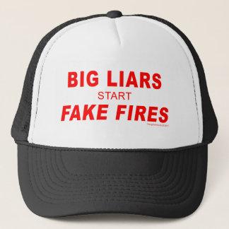 Fake Fires Trucker Hat