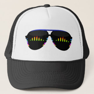Fake Glasses - EQ Bar Trucker Hat