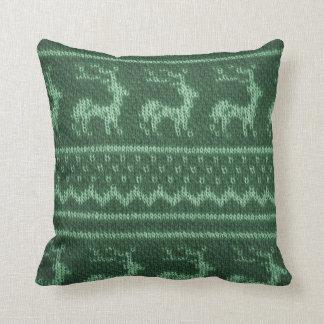 Fake Knitwear Christmas Pillow