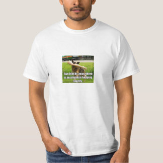 Fake Leg Dog T-Shirt
