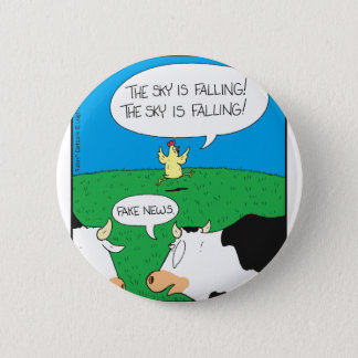 Fake Moos Zazzle 2 Inch Round Button