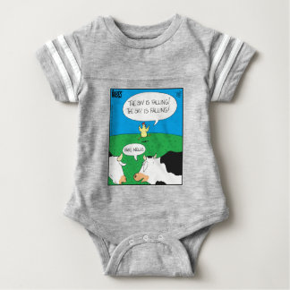 Fake Moos Zazzle Baby Bodysuit