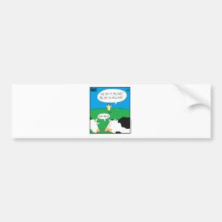 Fake Moos Zazzle Bumper Sticker