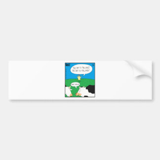 Fake Moos Zazzle Bumper Sticker
