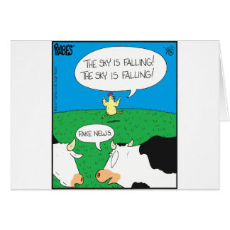 Fake Moos Zazzle Card