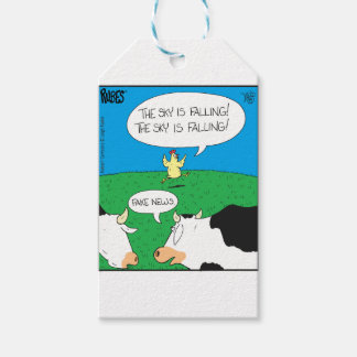 Fake Moos Zazzle Gift Tags
