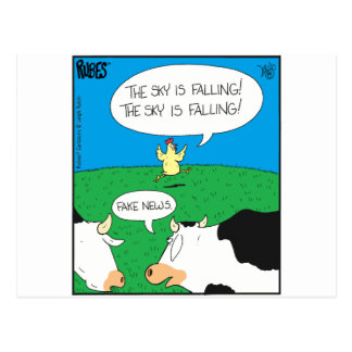 Fake Moos Zazzle Postcard
