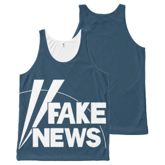 fake news #3 All-Over-Print tank top