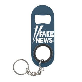 fake news #3 keychain bottle opener